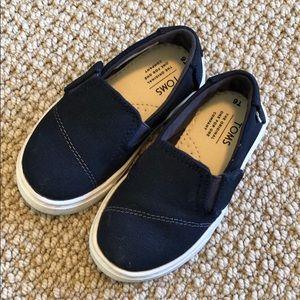 Boys' Toms Slip-ons Navy T6